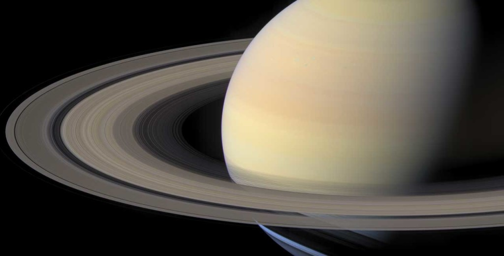 SATURN...it's possible to see this planet's spectacular rings from the High Line