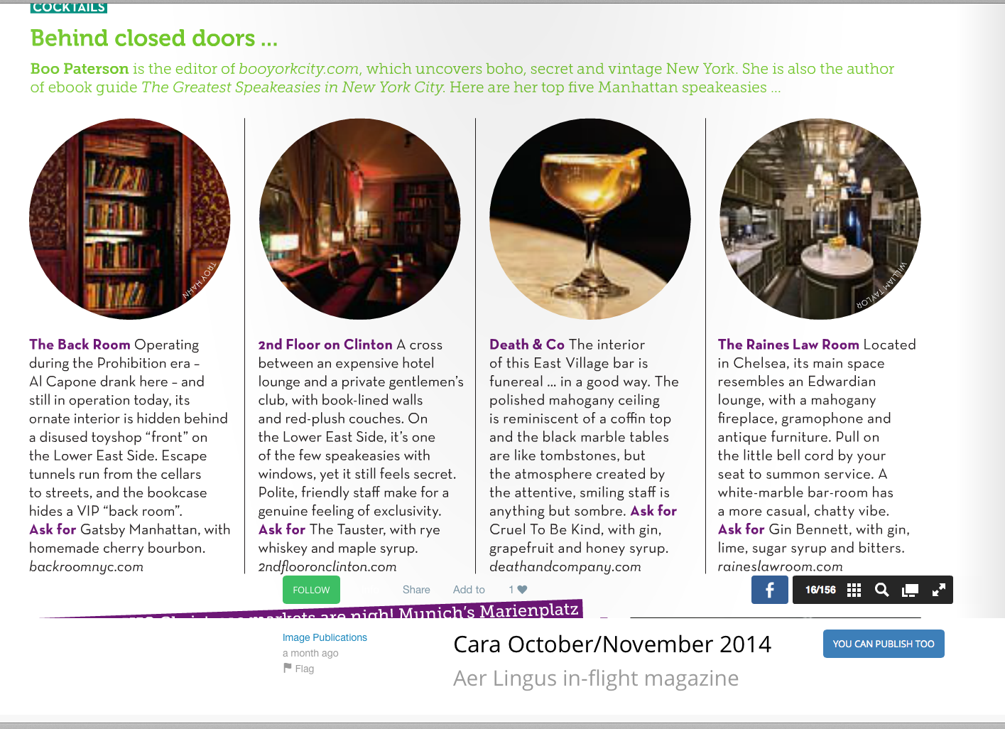 BYC speakeasies CARA Aer Lingus mag 28.10.14 copy