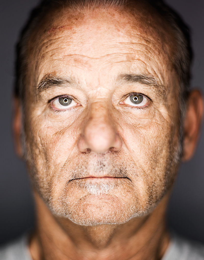STAR...Bill Murray was one of the actors Mark shot as part of the Esquire shoot