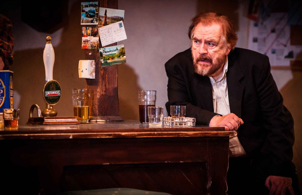STAR...Cox is currently in The Weir at Wyndham's Theatre in London   Pic by Helen Warner