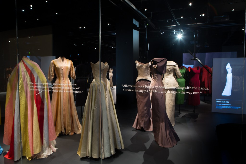the James gallery at the Anna Wintour Costume Center