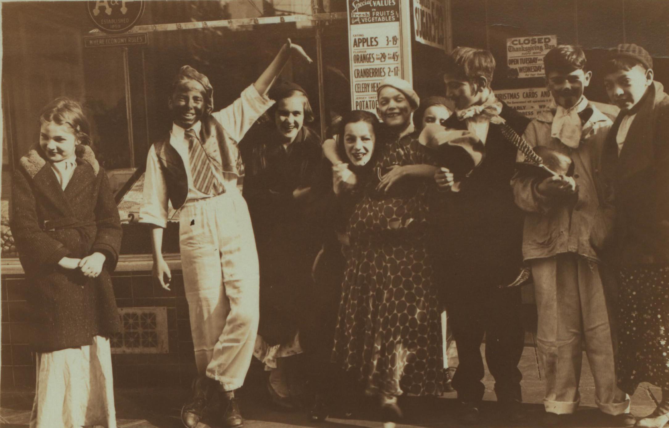 OLD TIMES...kids on Bleeker Street in 1933