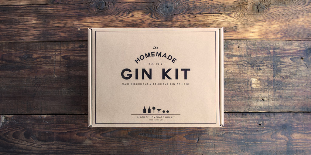 RETRO...the Homemade Gin Kit is beloved of would-be bootleggers