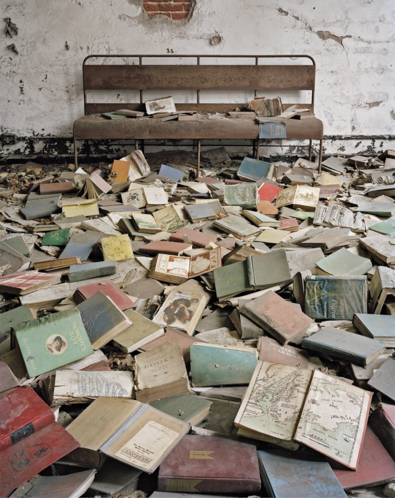 LOST WORDS...abandoned books in the classroom