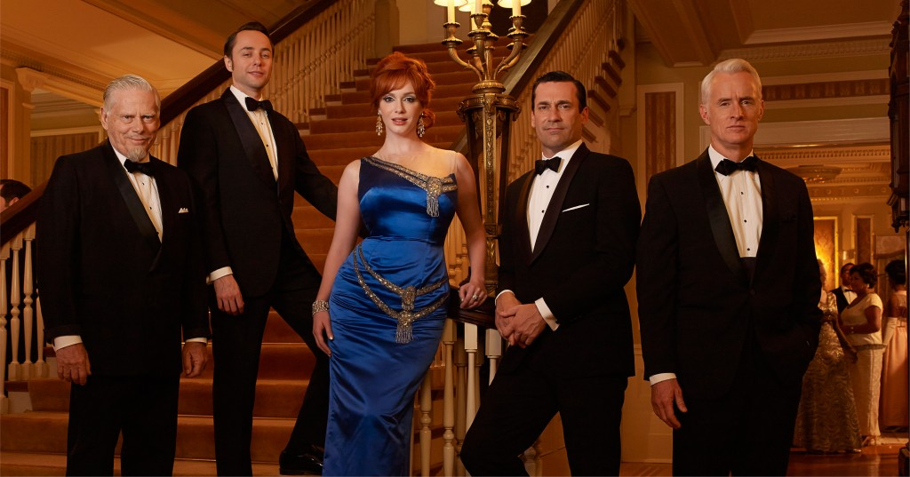 DRESSED TO KILL...Joan Holloway with the Mad Men