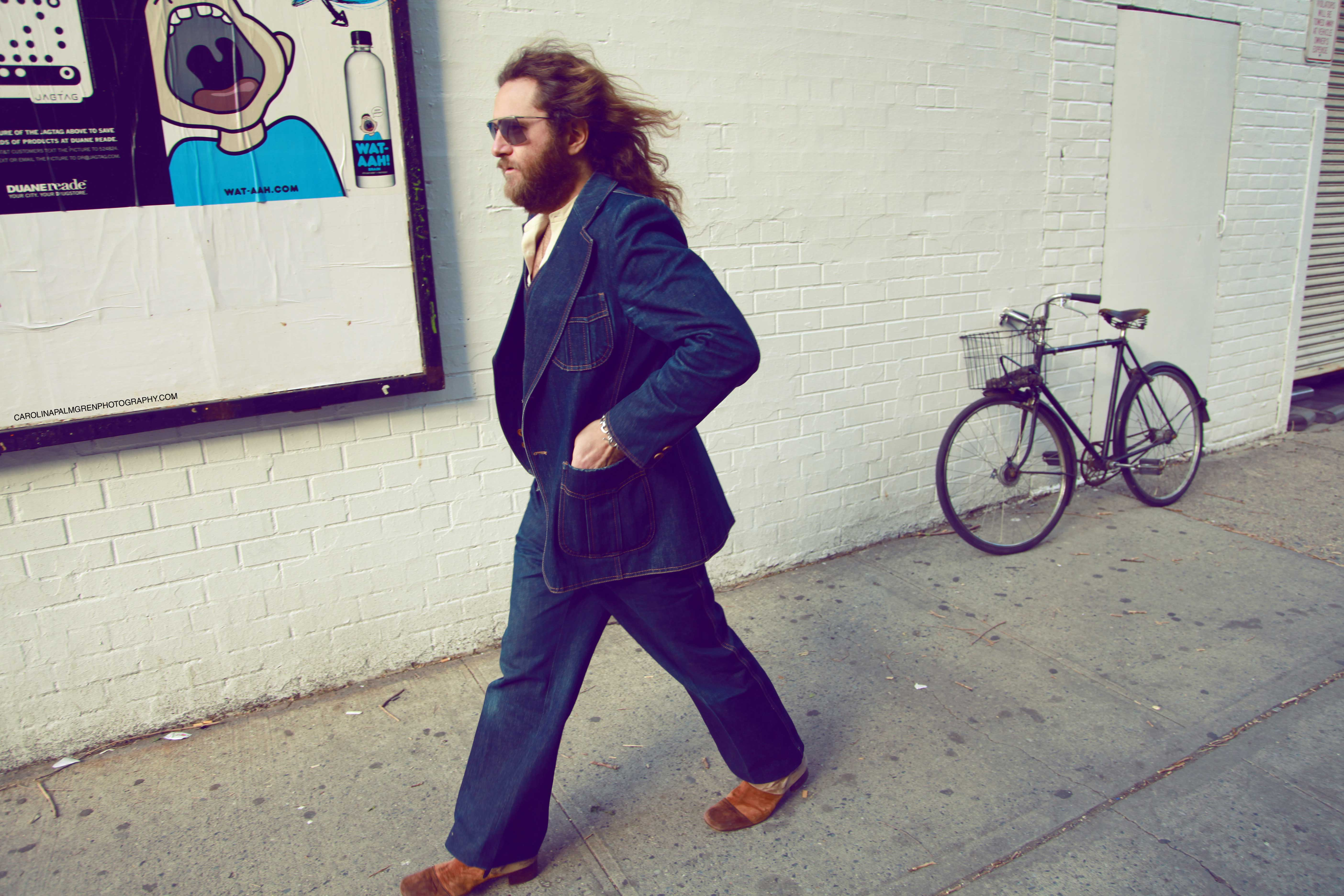 STREET LIFE...Luke has left Manhattan for Greenpoint and upstate New York