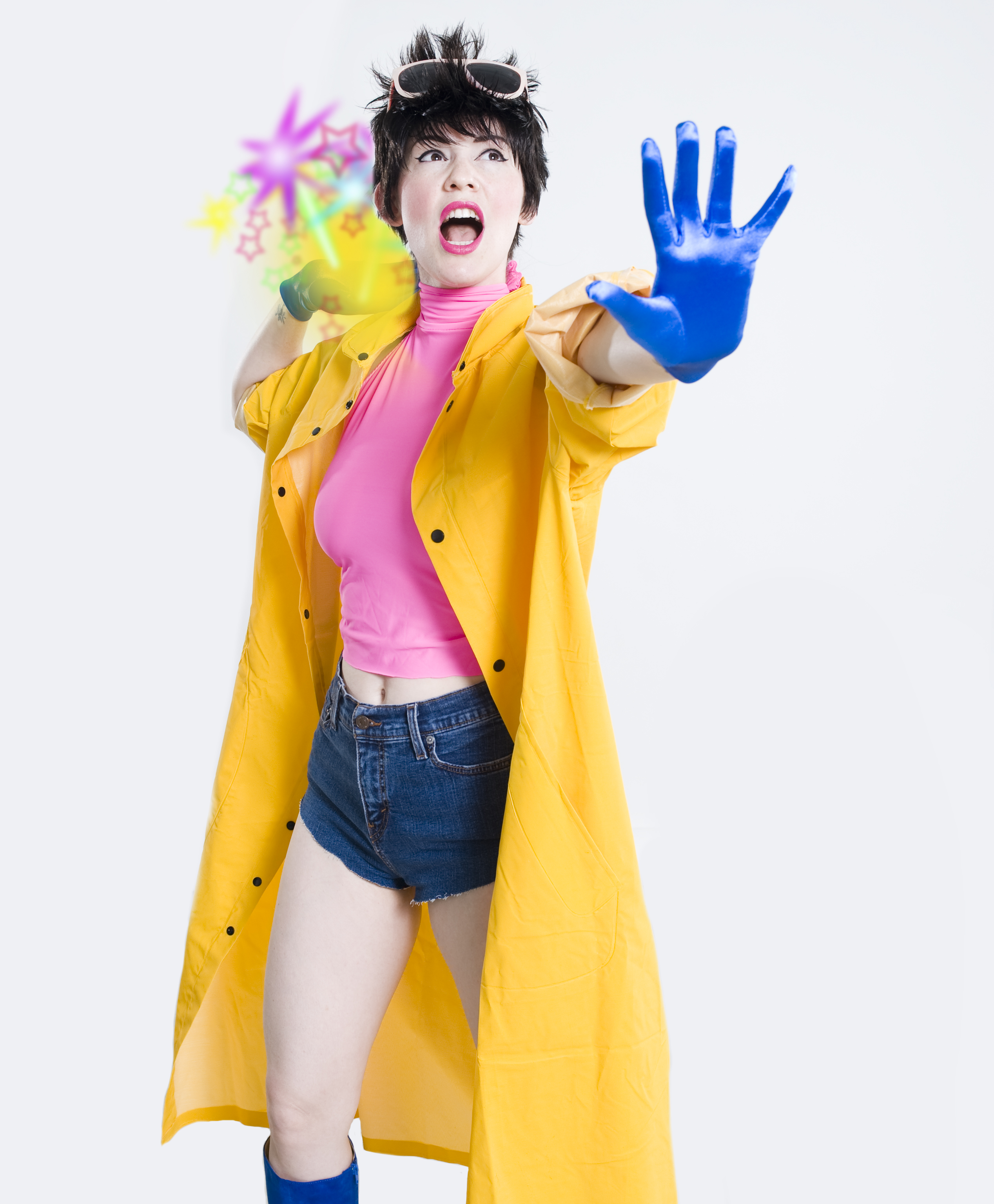 YELLOW PERIL...Hazel Honeysuckle as Jubilee Pic by Ben Trivett Photography