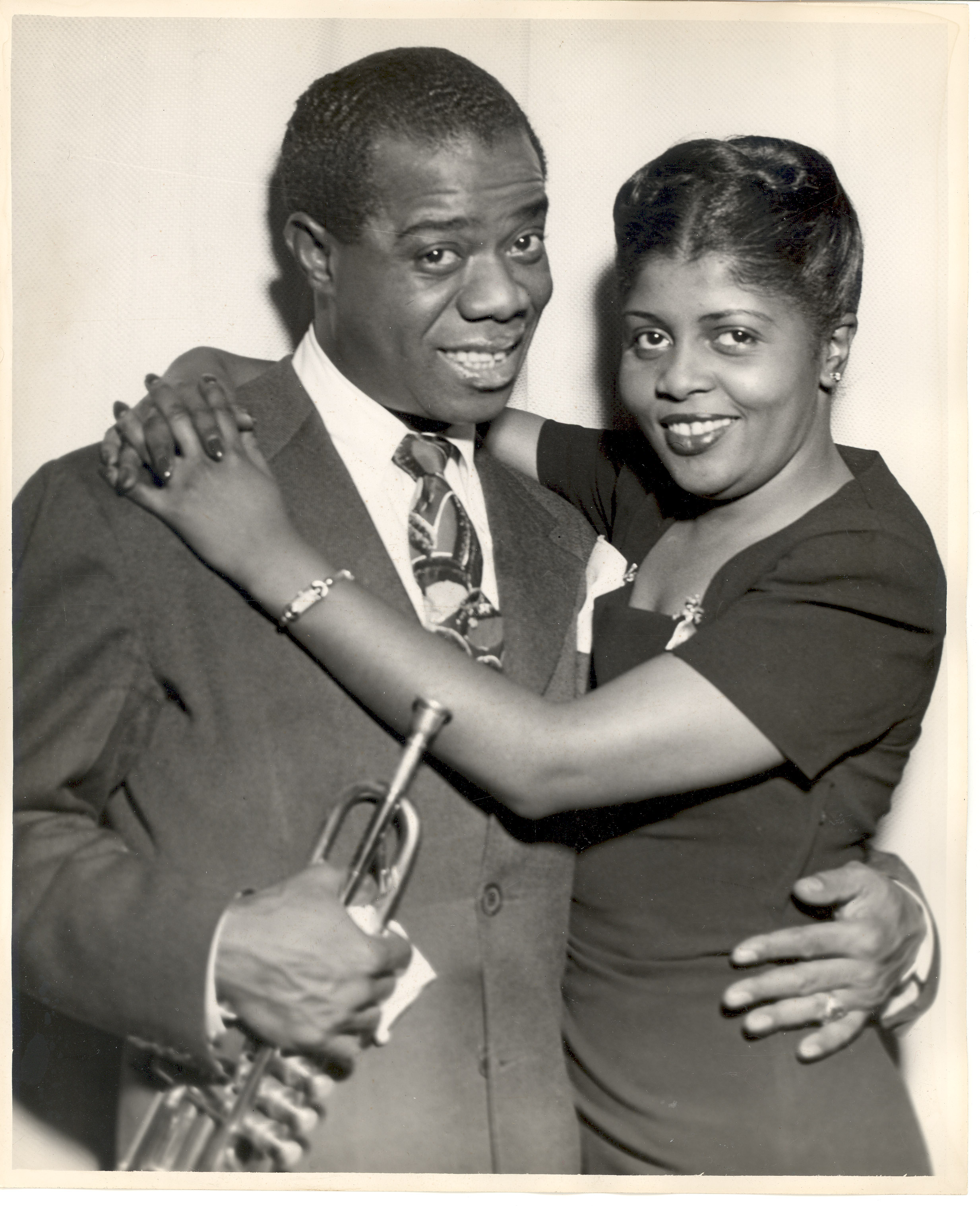 Louis and wife Lucille, who was fined for possessing marijuana
