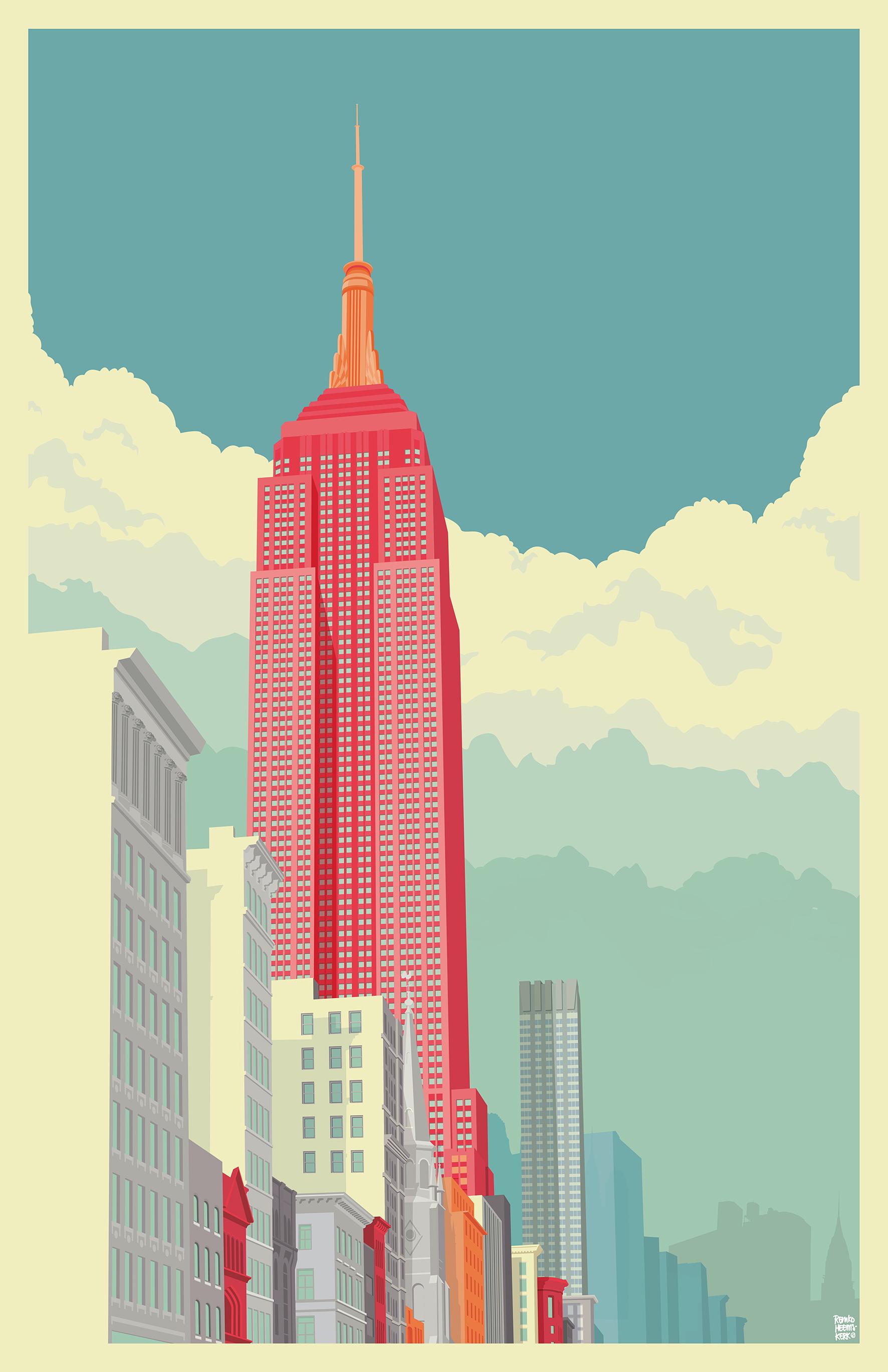 SKY...Empire State Building © 2012 - 2015 Remko Heemskerk