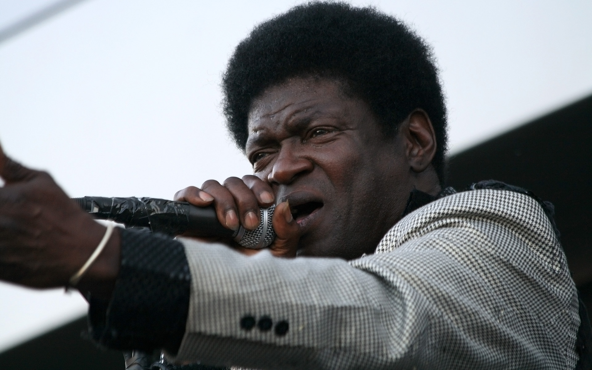 POWER...Charles Bradley & His Extraordinaires is one of the best vintage-style performers