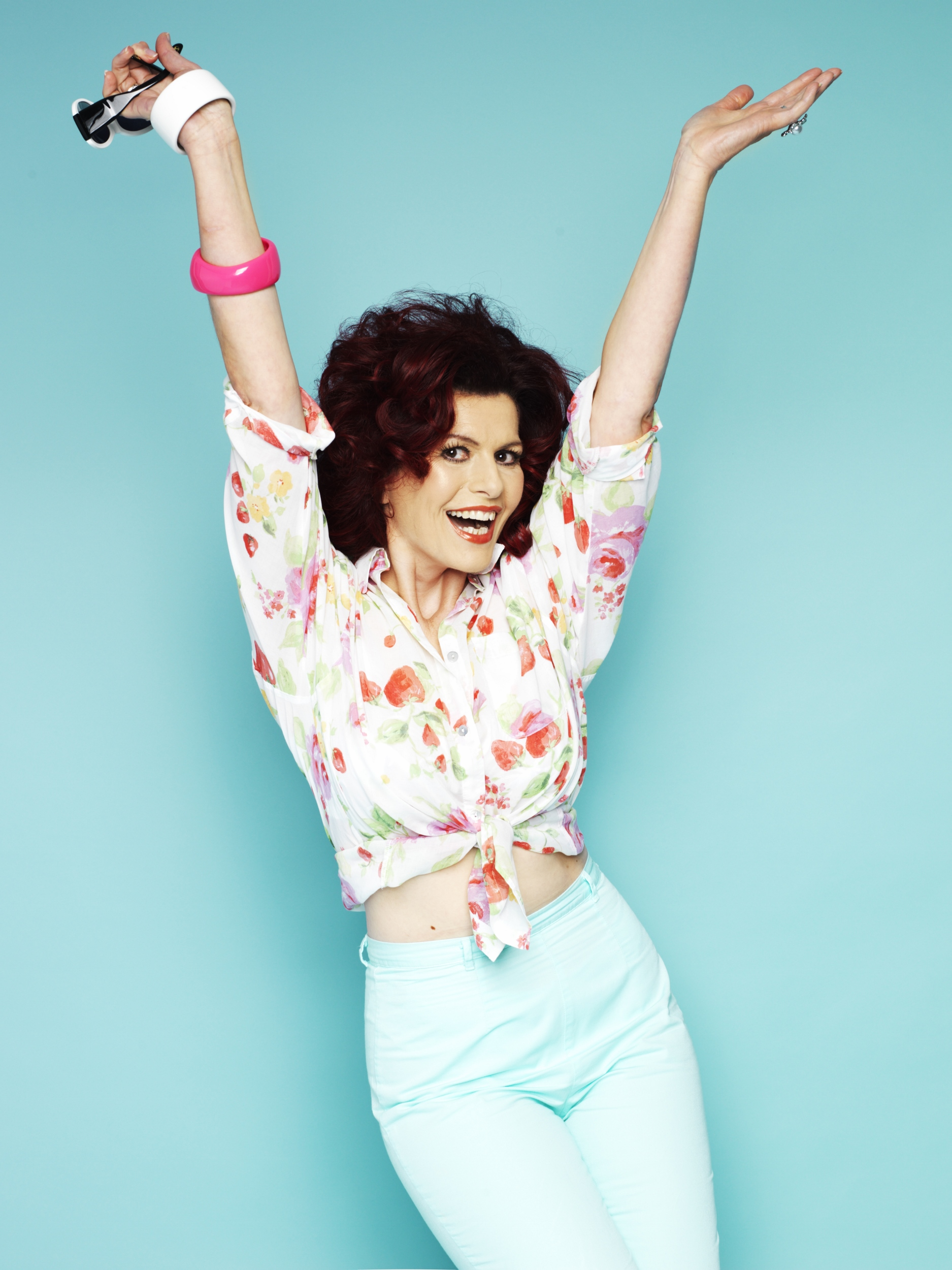 STAR...Cleo Rocos has many TV and producing credits to her name