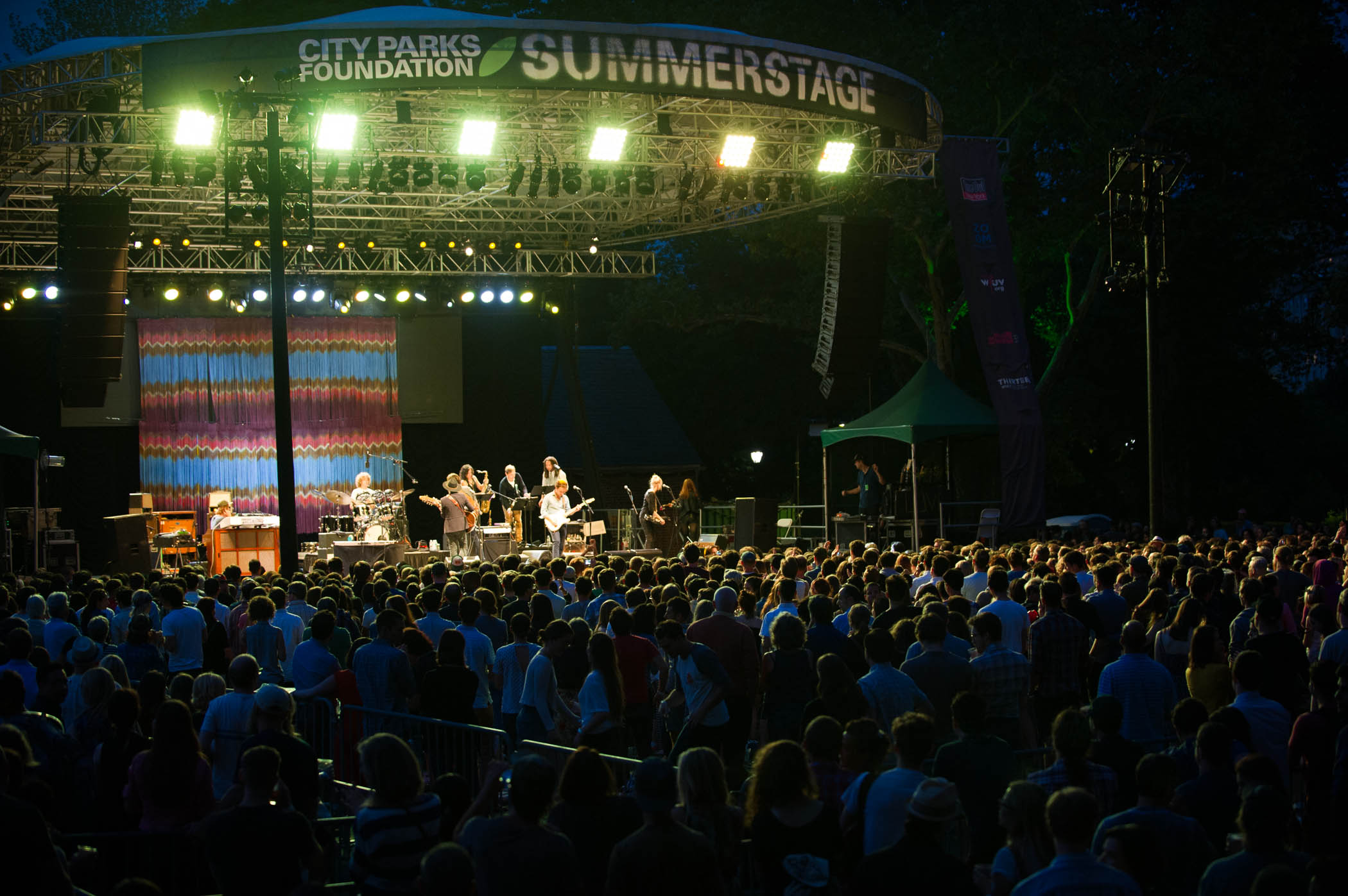MUSIC MAKER...SummerStage in Central Park Pic by Michael Seto
