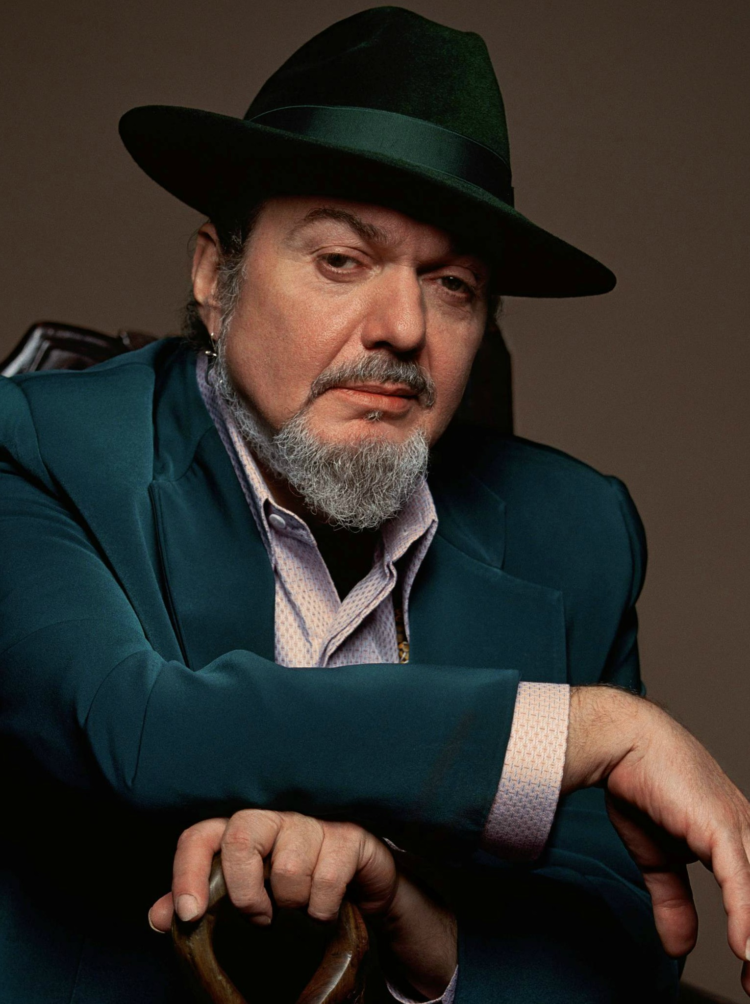 LEGEND...Dr John fuses jazz, blues, zydeco and rock n' roll