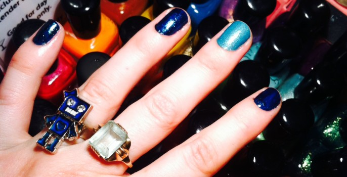 Hands Up For A Feminist Manicure