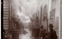 GRIM...Bandits' Roost, an alley at 59 ½ Mulberry Street, 1887-88 ©MCNY