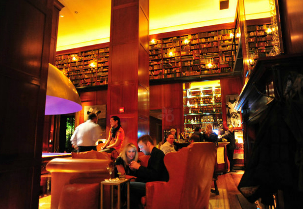 BOOK EARLY...Hudson Hotel Library Bar is great for readers during the day